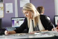 Sixth Form Female Student