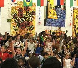 Packed House for Primary International Days