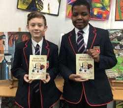 Three Students' Poems in Shakespeare Anthology