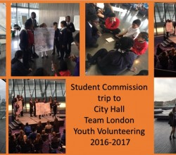Student Commission Visit City Hall