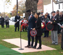 Armistice Day in Mitcham