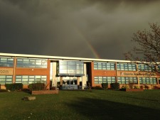 Rainbow over HAM