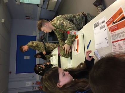 Year7's Army Stem Visit - Febr...