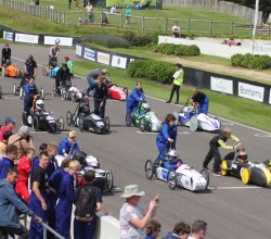 Greenpower - Formula E Racing - Goodwood