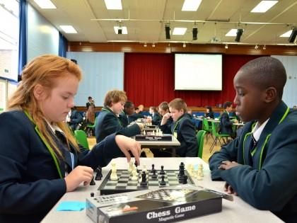 Chess at Harris Academy Morden