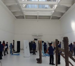 Michael Dean Exhibition at the South London Gallery