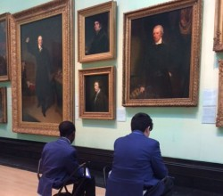 National Portrait Gallery visits