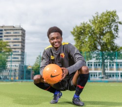 Year 11 student signs for Premier League Football Club