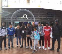 Basketball play-off finals at O2