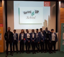 Year 8  King's Scholars Non Residential Visit