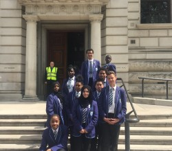 Year 10 visit to Cabinet Office