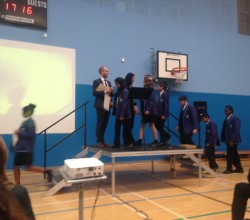 Year 9 Harris Experience launch
