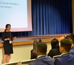 Guest Speaker Visits Academy