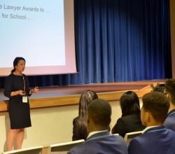 Guest Speaker Visits Academy