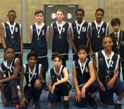 Croydon Cup Runners Up: Basketball