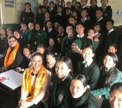 Kailash Bohdi partner school in Nepal