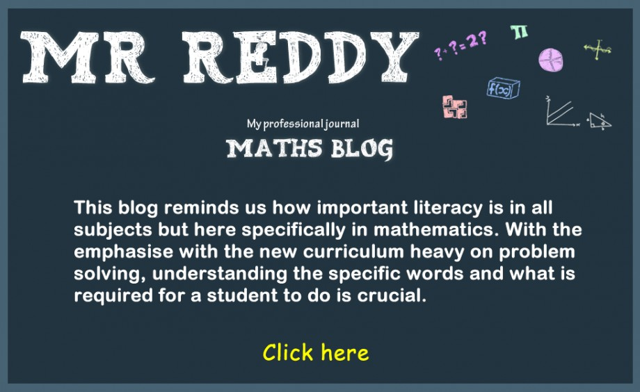 MathsMrReadyBlog
