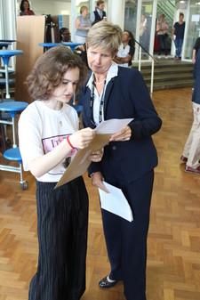 Mrs landman and student