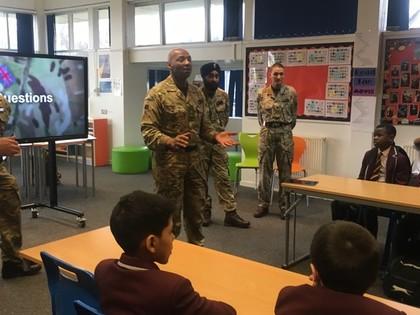 Lt Colonel Sulle Alhaji and ar...