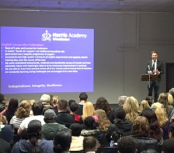 Great turnout at open evening sessions for Harris Academy Wimbledon