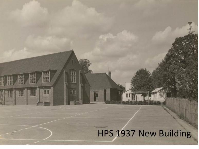 HPS 1937 New Building