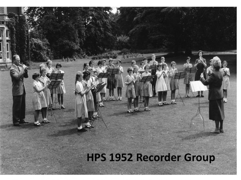 HPS 1952 Recorder group