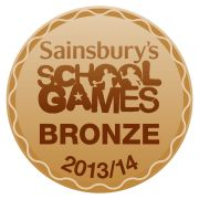 Sainsbury School Games Mark Bronze
