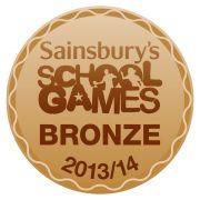 Sainsbury School Games Mark Bronze