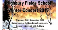 Winter Concert - 14th December 2017