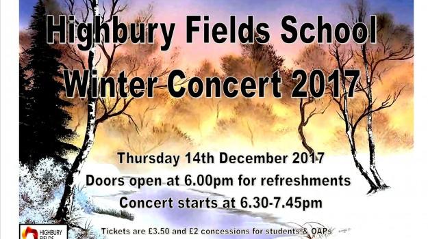 Winter Concert - 14th December 2017