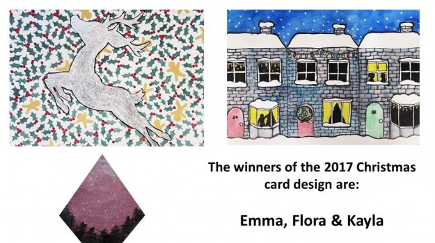 Christmas Card Design - Winners