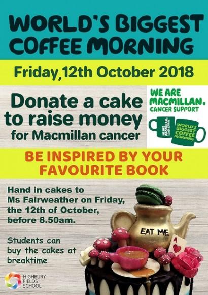 Macmillan Cake Poster