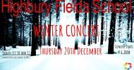 Winter Concert 2018