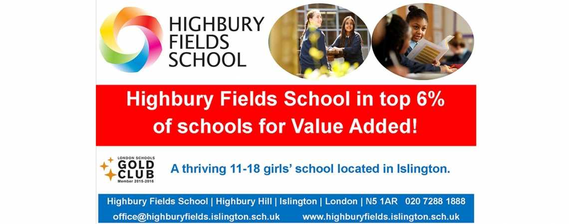 HFS in top 6% of Schools 'Value Added'