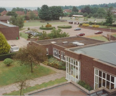 The old quad and car park