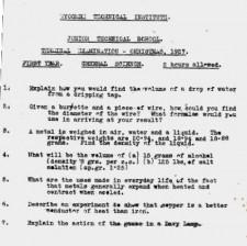 ScienceexamChristmas1927
