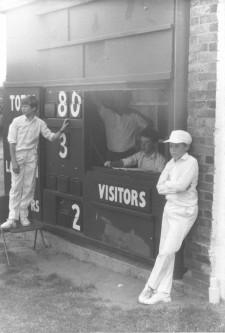The score board