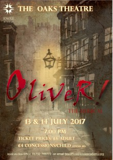 Oliver Poster designed by Trish Phillips