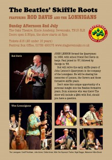 The Beatles' Skiffle Roots featuring Rod Davis and The Lonnigans - 2 July 2017-1