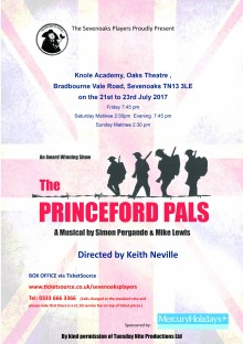 PPs main poster for Sevenoaks Players July 2017