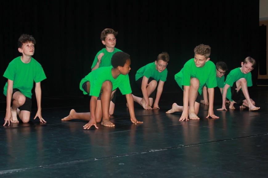 2017 Dance boys group image
