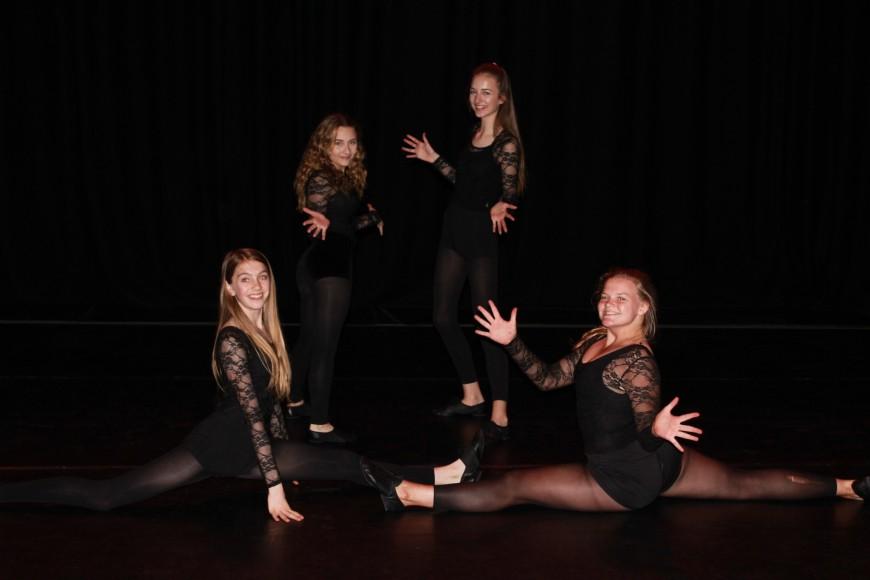 2017 Dance group image black background