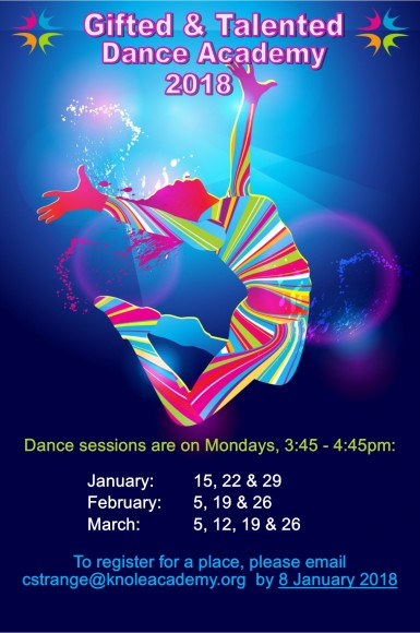 Gifted and Talented Dance Academy poster