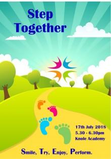 Step Together 2018 flyer fy