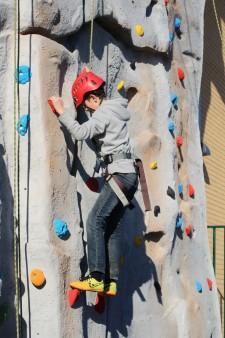 Climbing wall - boy