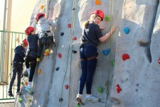 Climbing wall - group