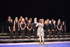 Spring Concert Abbey Sanders conducting the Chamber Choir resized