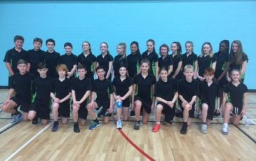Athletics Win for Year 7 and 8 Girls