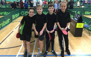 Kent School Games Team Table Tennis Competition.