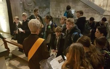 Year 7 History Trip to Canterbury Cathedral